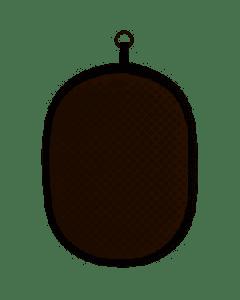 OXO GOOD GRIPS - Ovenhandschoen - Pannenlap zwart