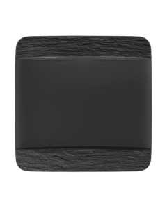 VILLEROY & BOCH - Manufacture Rock - Dinerbord vierkant 28cm