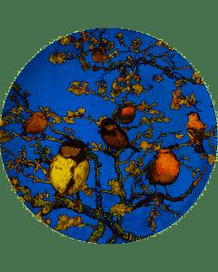 Heinen - Wandborden - Bord Vogels van Van Gogh 31,5cm