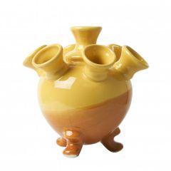 Heinen - Dip Dye - Tulpenvaas Oranje-Geel DIP 14cm