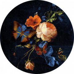 Heinen - Wandborden - Bord Vlinder Gouden eeuw 20cm