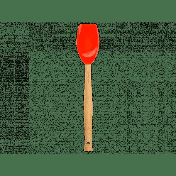LE CREUSET - Silicone - Lepelspatel groot Premium oranje