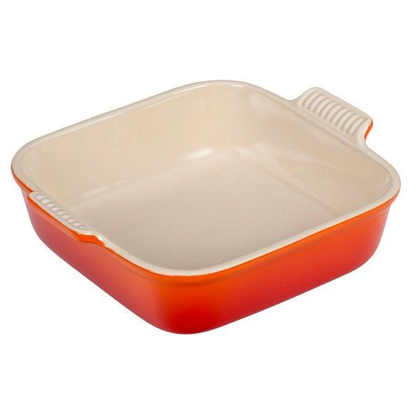 LE CREUSET - Aardewerk - Ovenschaal 23cm 2,80L oranje