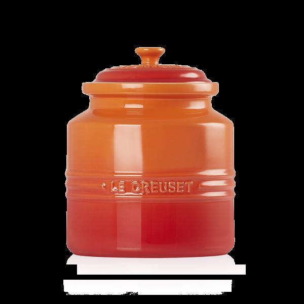 LE CREUSET - Aardewerk - Koekjespot Oranje 22cm 2,4l