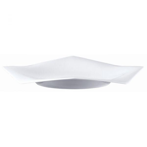 ROSENTHAL STUDIO LINE - A La Carte-Origami White - Bord 30 cm vlak