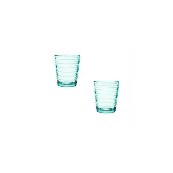 IITTALA - Aino Aalto - Glas 0,22l watergroen set/2