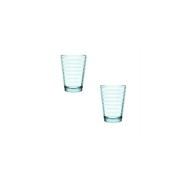 IITTALA - Aino Aalto - Glas 0,33l watergroen set/2