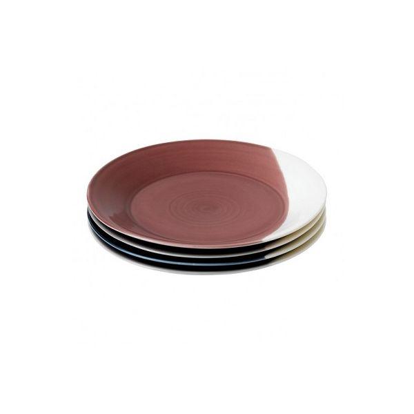 ROYAL DOULTON - Bowls of Plenty - Ontbijtbord 23cm set/4 (mix)