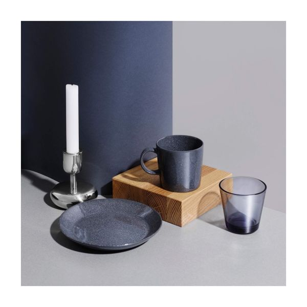 IITTALA - Teema Dotted Grey - Plat bord 17cm