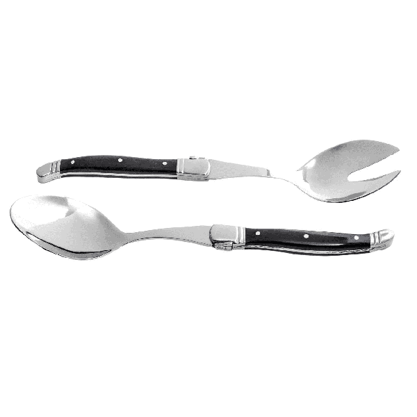 STYLE DE VIE - Laguiole Luxury Line - Saladecouvert 2-delig in kistje