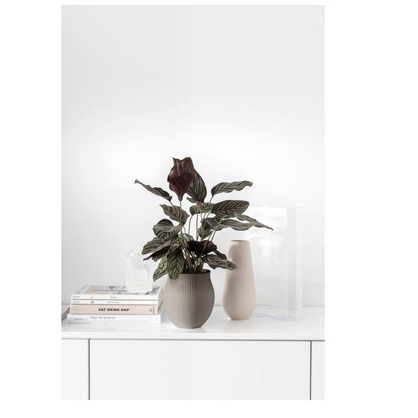 VILLEROY & BOCH - Collier - Vaas Perle Taupe 17,5cm