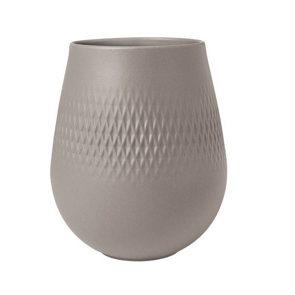 VILLEROY & BOCH - Collier - Vaas Carre Taupe 14,5cm